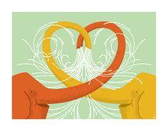 Heartwork. An art benefit for target house  varias ilustraciones