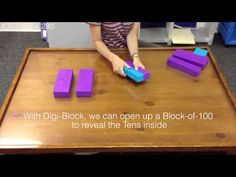 Digi-Block vs Base-10 Blocks: 3 digit subtraction with regrouping