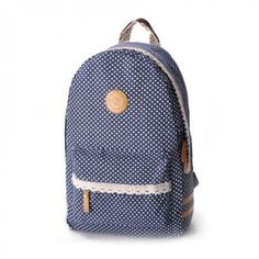 Wow! Fresh Sweet Lace Dot Print Backpack only $29.9 from ByGoods.com! I like it so much!!