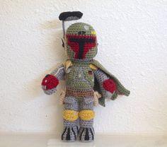 Star Wars Boba Fett Doll CROCHET PATTERN
