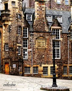 The Writers Museum: just off the Royal Mile in Edinburgh, Scotland.I want to live here.No more than an hour from Edinburgh. Oh The Places You'll Go, Places To Travel, Places To Visit, Travel Stuff, Beautiful World, Beautiful Places, Amazing Places, England And Scotland, Scotland Uk