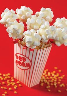 Movie Night Popcorn (Babycakes Cake Pops Maker)