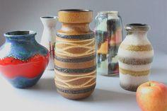 #Scheurich #FatLava #vase #ceramic #vintage #brown #60s #70s #wohnraumformer