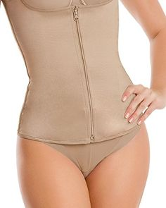 Slimming Thermal Vest Leonisa Nude M -- Read more reviews of the product by visiting the link on the image.(This is an Amazon affiliate link and I receive a commission for the sales)