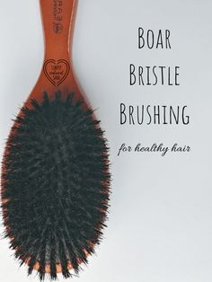 Add a boar bristle brush into your haircare routine for nourished healthy hair! - - Add a boar bristle brush into your haircare routine for nourished healthy hair! Healthy Hair Tips Boar Bristle Brush, Natural Bristle Hair Brush, Fitness Models, Natural Beauty Recipes, Beauty Ideas, Diy Beauty, Healthy Hair Tips, Natural Haircare, Health