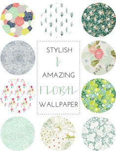 10 Amazing Floral Wallpapers | brittanyMakes