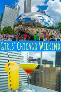 Travel the World: Ideas for a girls' weekend in Chicago: what to do, where to eat, where to stay, and how to get around.