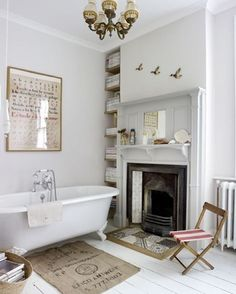 All White & Strong White are colour combinations to create a relaxing bathroom (pc: bodasdecuento)