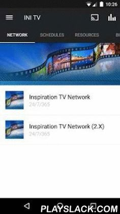 INI TV  Android App - playslack.com ,  When you download this FREE app you're only a touch away from live streaming of Inspiration Today, international programme schedules, spiritual resources, and more. As an outreach of Inspiration Ministries, this app also provides evangelism and discipleship to keep God's Word alive in your daily life.For more information about The Inspiration Ministries, please visit:http://www.ini.tvThe The Inspiration Ministries App was created with the Subsplash App…