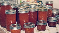 Canning apricot pineapple jam with mom #livingthecountrylife and loving it!