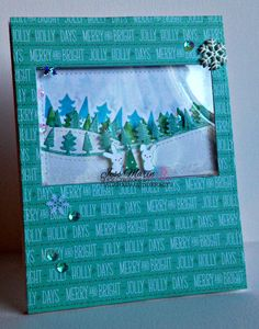 """Lawn Fawn """"""""Snow Day"""""""" Clear Stamp Set"""