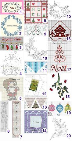 Craft Gossip needlework links- Best posts of 2011 - free patterns & charts galore!