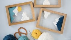 DIY Tissage : Petits paysages tissés (  CONCOURS: vos places pour le Salon CSF!)
