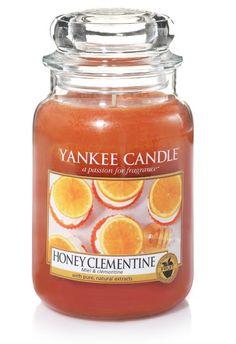 Miel & clémentine - Bougie grande jarre - Yankee Candle BOUTIQUE
