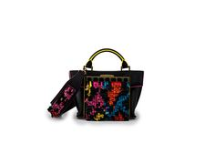 Azzurra Gronchi spring/summer bags collection, mini Italy black back