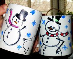 custom coffee mugs. great for hot chocolate