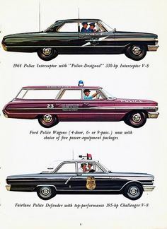 1964 Ford police series