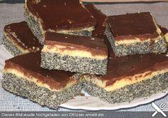 Mohnkuchen mit Vanillecreme und Schoko, ein tolles Rezept aus der Kategorie Kuchen. Bewertungen: 36. Durchschnitt: Ø 4,3.