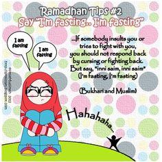 Ramadhan Tips #2 - Inni Saim Inni Saim by ~littleMuslimah