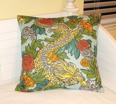 Robert Allen Dwell Studio Ming Dragon in by SewSusieDesigns, $38.00
