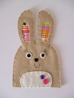 bunny egg cozy-could be finger puppet?