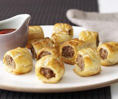 Sausage rolls recipe - By Australian Women& Weekly, A classic Aussie favourite, your family will love these homemade version of the humble sausage roll. It& taste so much better coming straight from the oven, and you& know exactly what& going into them.