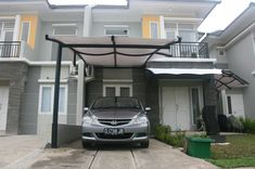 Carports are the easiest way to protect our vehicles from the hot sun and rain,when there is no parking area or a garage. In such cases carports are Pergola Cost, Pergola With Roof, Patio Roof, Pergola Plans, Carport Modern, Carport Garage, Carport Canopy, Portable Carport, Carport Designs