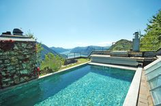 Luxury real estate in Lugano Switzerland - Lugano, Villa with rooftop pool and breath-taking view of lake and Mountains - JamesEdition