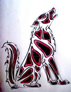 wolf totem - Google Search North American Animals, Wolf Totem, Call Of The Wild, Spirit Animal, Tribal Tattoos, Abstract, Artwork, Google Search, Summary