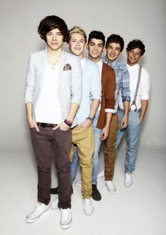 One Direction. Whose your favorite? Mine is Harry, Louis, Niall, Zayn, and Liam.