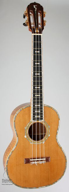 lardyfatboy: Craig Sullivan - Stetson Guitars Tenor =Lardys Ukulele of the day - a year ago --- https://www.pinterest.com/lardyfatboy/