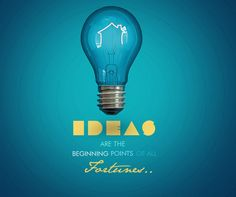 IDEAS ARE THE BEGINNINGS POINTS OF ALL FORTUNES ! http://yerevanweb.com/