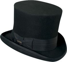 Mens Victorian Black Top Hat for Sale- Recommended http://www.vintagedancer.com/victorian/victorian-mens-clothing/