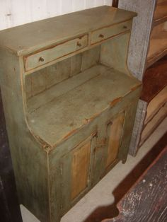 .primitive but perfect for the back porch