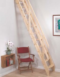 Dolle Amsterdam Wooden Space Saving Staircase Kit (Loft Stair) # £175.00 + VAT