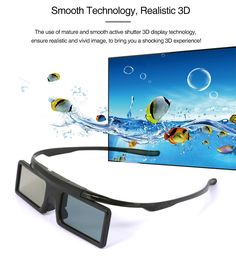 Glasses Active Shutter Rechargeable USB Bluetooth Infrared bril for Epson projector Samsung Panasonic Sharp TV 3d Tvs, Display Technologies, 3d Glasses, Epson, Vr, Shutters, Mobiles, Computers, Bluetooth