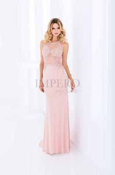DS 1961L #abiti #dress #wedding #matrimonio #cerimonia #party #event #damigelle #rosa #pink