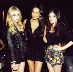 Ashley Benson, Lucy Hale and Shay Mitchell