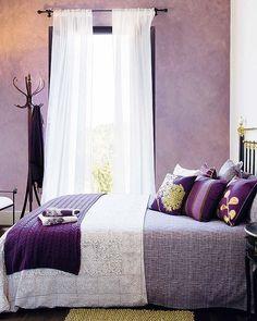 Una decoración íntima para el dormitorio