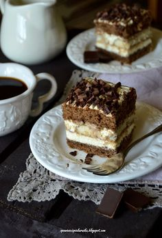 Opowieści z piekarnika: Tiramisu na biszkopcie Tiramisu, Cookie Desserts, Cake Cookies, Cheesecake, Food And Drink, Thanksgiving, Sweets, Ethnic Recipes, Dolce
