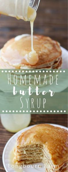 Homemade syrup is easy to make and so delicious! This recipe turns out every time. It's buttery, and thick and has a unique flavor twist! (Diy Lemon Butter)