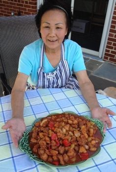 Best sweet and sour chicken recipe. From Washington post