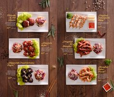 Key Visual, food styling and menu design for Asian House.