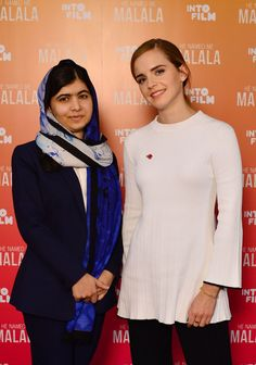 EMMA WATSON at He Named Me Malala Premiere at Birmingham Film Festival 11/04/2015