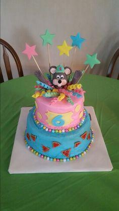 15 Personalized Chuck E Cheese Cupcake Topper Birthday