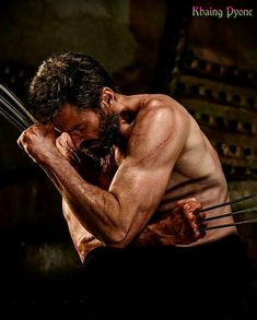 Hugh Jackman, Wolverine Movie, Logan Wolverine, Batman Begins, Laughing Man Coffee, Batman Comic Art, Batman Comics, Marvel E Dc, Actor