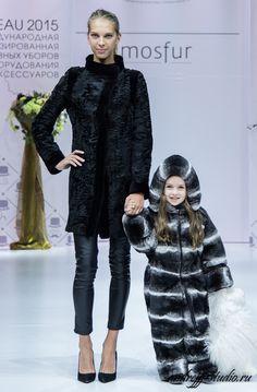 Rex rabbit fur snowsuit. Not sure how practical it is, but it definitely makes a…