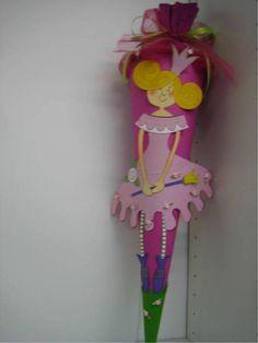 Schultüten - Schultuete, Prinzessin Wunderhuebsch - ein Designerstück von findegruebchen bei DaWanda