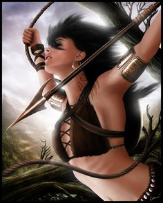 Persian Warrior Princess inspiration