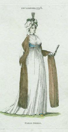 Paris dress by Philips - December 1798